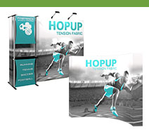 10' Hopup Tension Fabric Displays