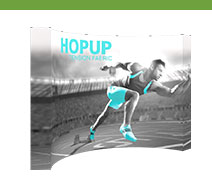 12.25' Hopup Tension Fabric Displays