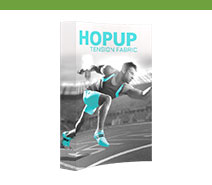 5' Hopup Tension Fabric Displays